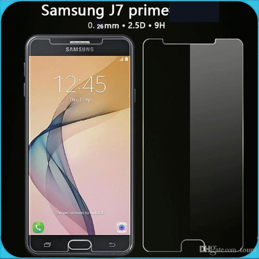 Tempered Glass Samsung J7 Prime Screen Guard Protector .