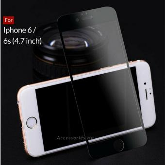 Tempered Glass Screen Protector   Anti Gores Kaca iPhone 6   6s - Hitam 3e06f5dbe2