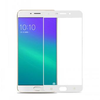 Tempered Glass Screen Protector / Anti Gores Kaca Oppo F1 plus - Putih