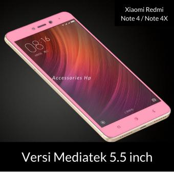 Tempered Glass Screen Protector / Anti Gores Kaca Xiaomi Redmi note 4 / Note 4X mediatek