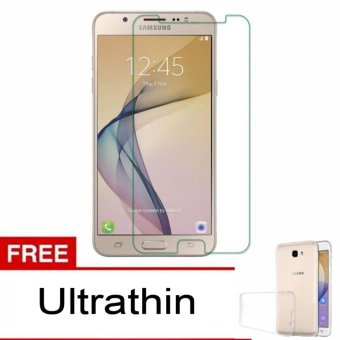 Tempered Glass Screen Protector for Samsung Galaxy J5 Prime + freeultrathin