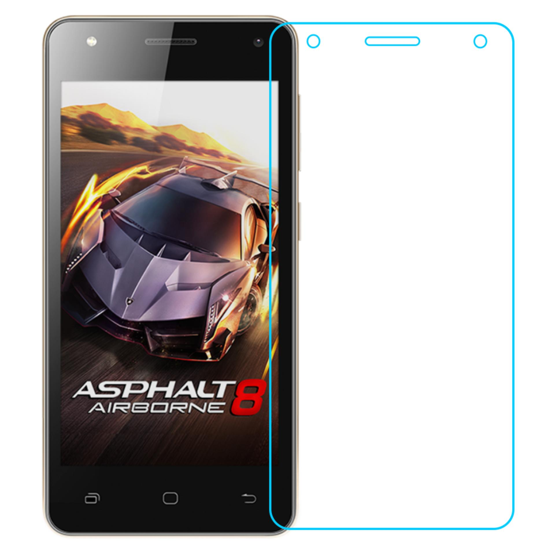Vn Smartfren Andromax E2 Tempered Glass 9H Screen Protector 0.32mm - Transparan