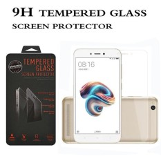Tempered Glass Xiaomi Redmi 5A Ukuran 5.0 Inch Temper Anti Gores Kaca 9H / Pelindung Layar / Temper Xiaomi Redmi 5A / Screen Guard / Screen Protection / Anti Gores Kaca Xiaomi Redmi5A - Transparant
