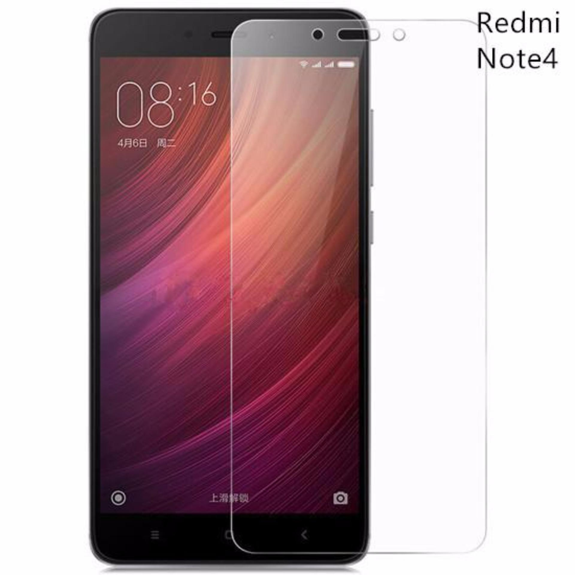 Tempered Glass Xiaomi Redmi Note 4 Anti Gores Kaca / Screen Protector / Pelindung Layar .