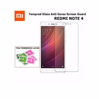 Tempered Glass Xiaomi Redmi Note 4 Anti Gores Kaca / Screen Protector / Pelindung Layar /