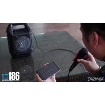 DAZUMBA DW186 Speaker Portable BLUETOOTH - GRATIS MIC