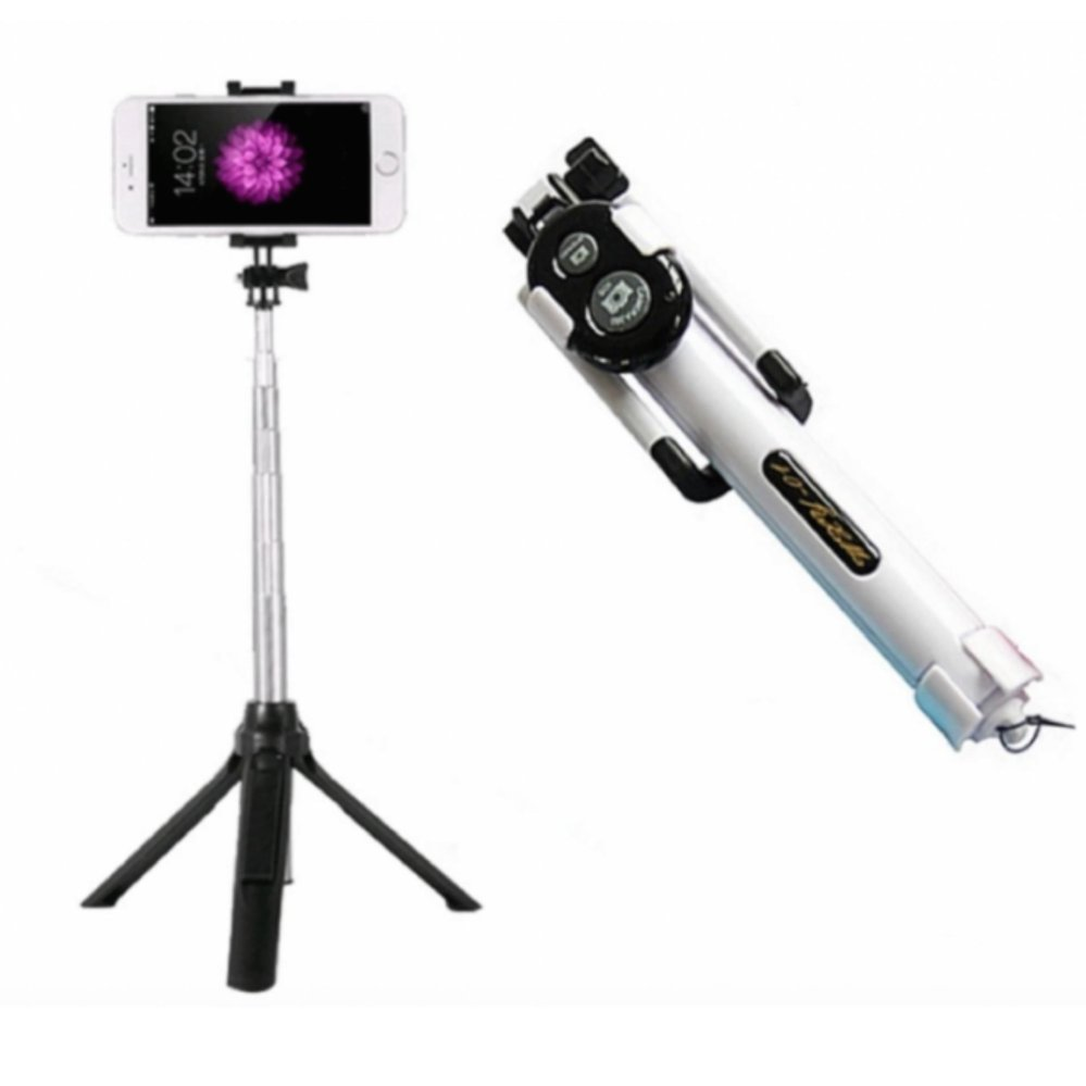 Belanja Terbaik Tongsis Multi Function Build In Tripod Selfie Stick With Bluetooth Extendable Folding For Iphone Smartphone