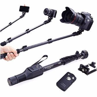 Tongsis Yunteng YT-1288 Monopod / Selfie Stick / Tongsis Bluetooth with Shutter and U