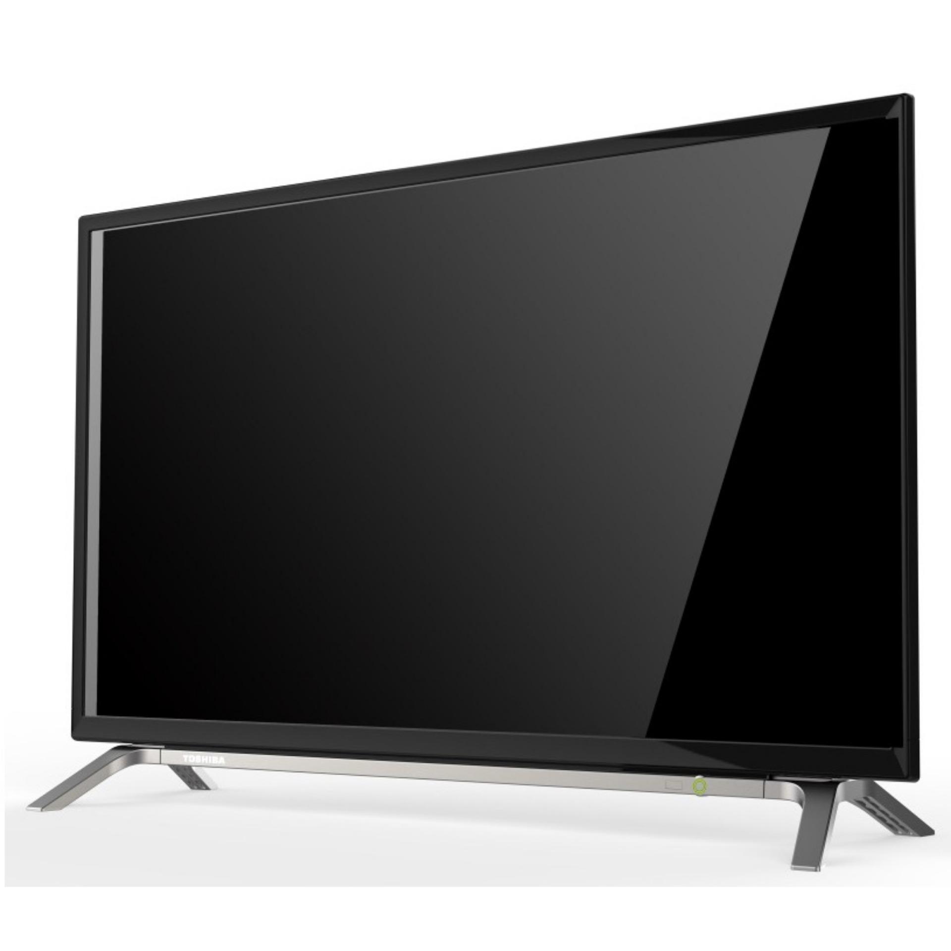 Toshiba 32L2605VJ LED TV 32 USB Movie Free Bracket Hitam Khusus Jabodetabek