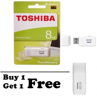 Toshiba Flashdisk Hayabusa 8GB Original ( BELI 1 GRATIS 1 )