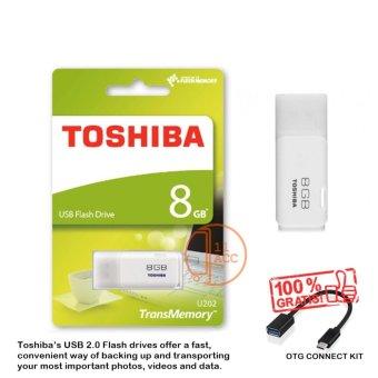 Toshiba Flashdisk Hayabusa 8GB + OTG Connect Kit