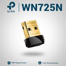TP-Link Nano USB Wifi Wireless Adapter 150 Mbps TL-WN725N - Hitam