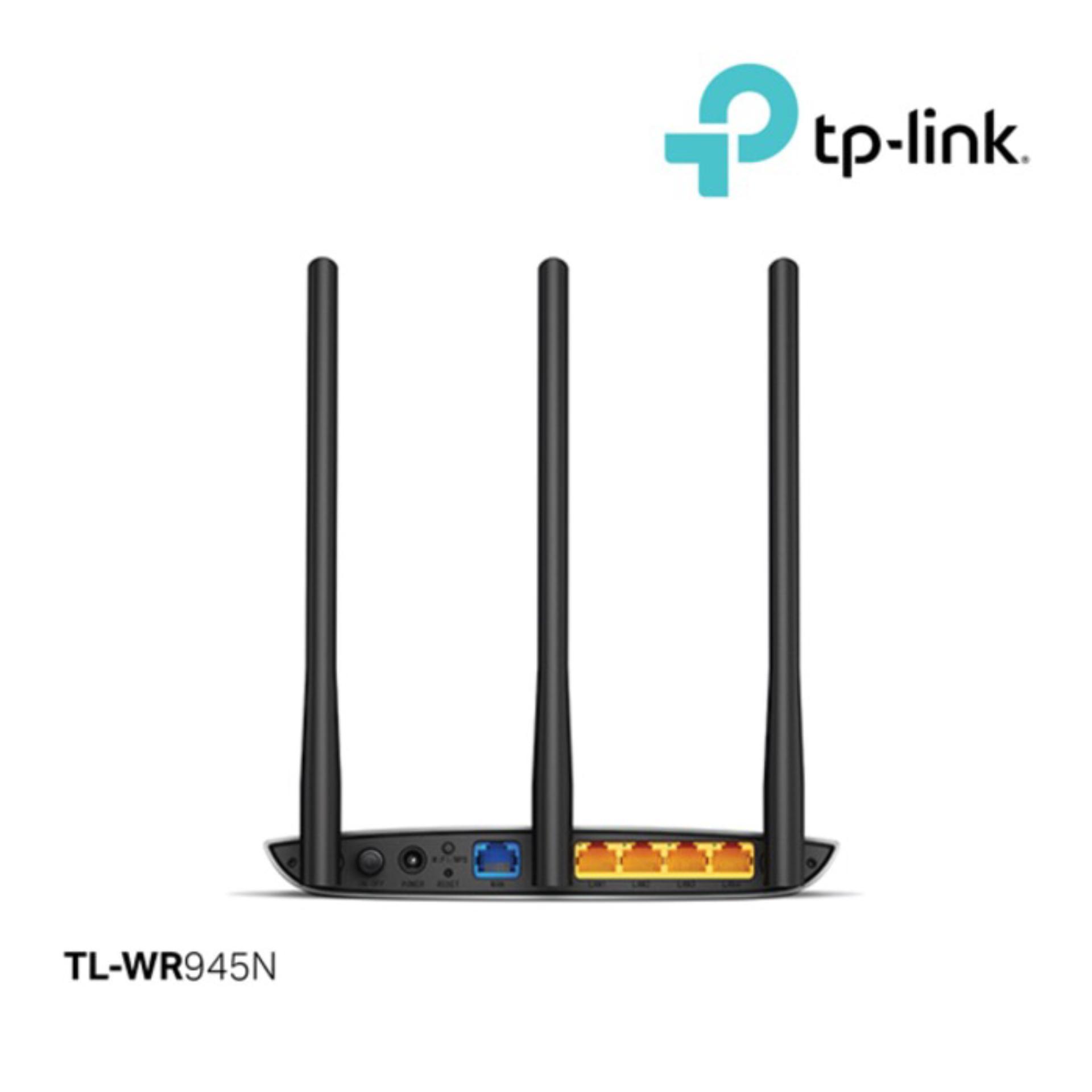 Pelacakan Harga Tplink Tl Wr945n 450mbps Wireless N Router Flash Sale Tp Link Wr941hp High Power Hitam
