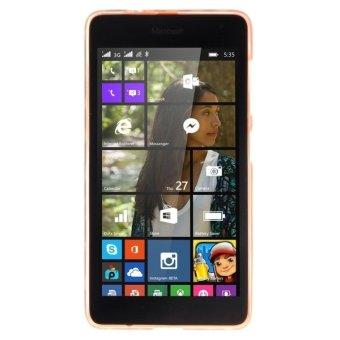 ... TPU Case pelindung untuk Microsoft Lumia 535 (hitam) - 5