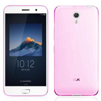 TPU Soft Back Cover Phone Case untuk ZUK Z1 (Pink)