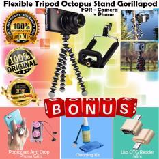 Trend's For Camera & Phone Portable Mini Flexible TripodOctopus Stand Gorillapod - Gratis Socket Mobile Popsocket
