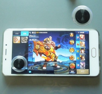 Tri Dynasties Mobile Joystick for Smartphone Gaming Fling MiniJoysticks Zero Any Touch Screen Joystick Perfect Mobile