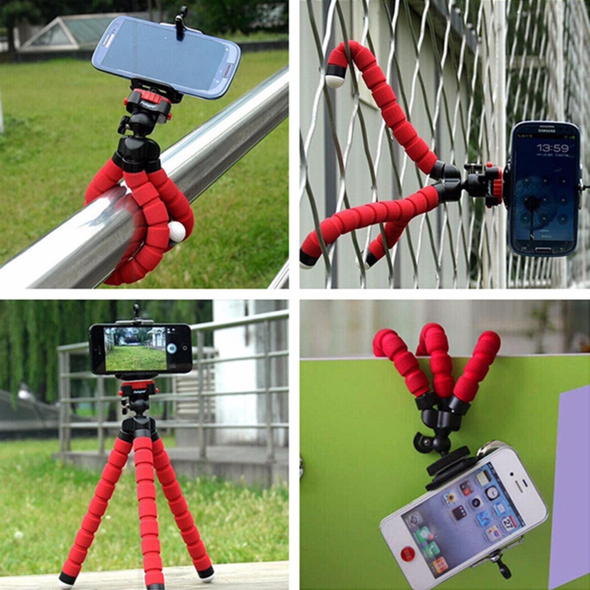 ... Tripod Flexible Octopus Bracket With Holder Stand Mount for GoproCamera/SLR /DV Mini Camera ...