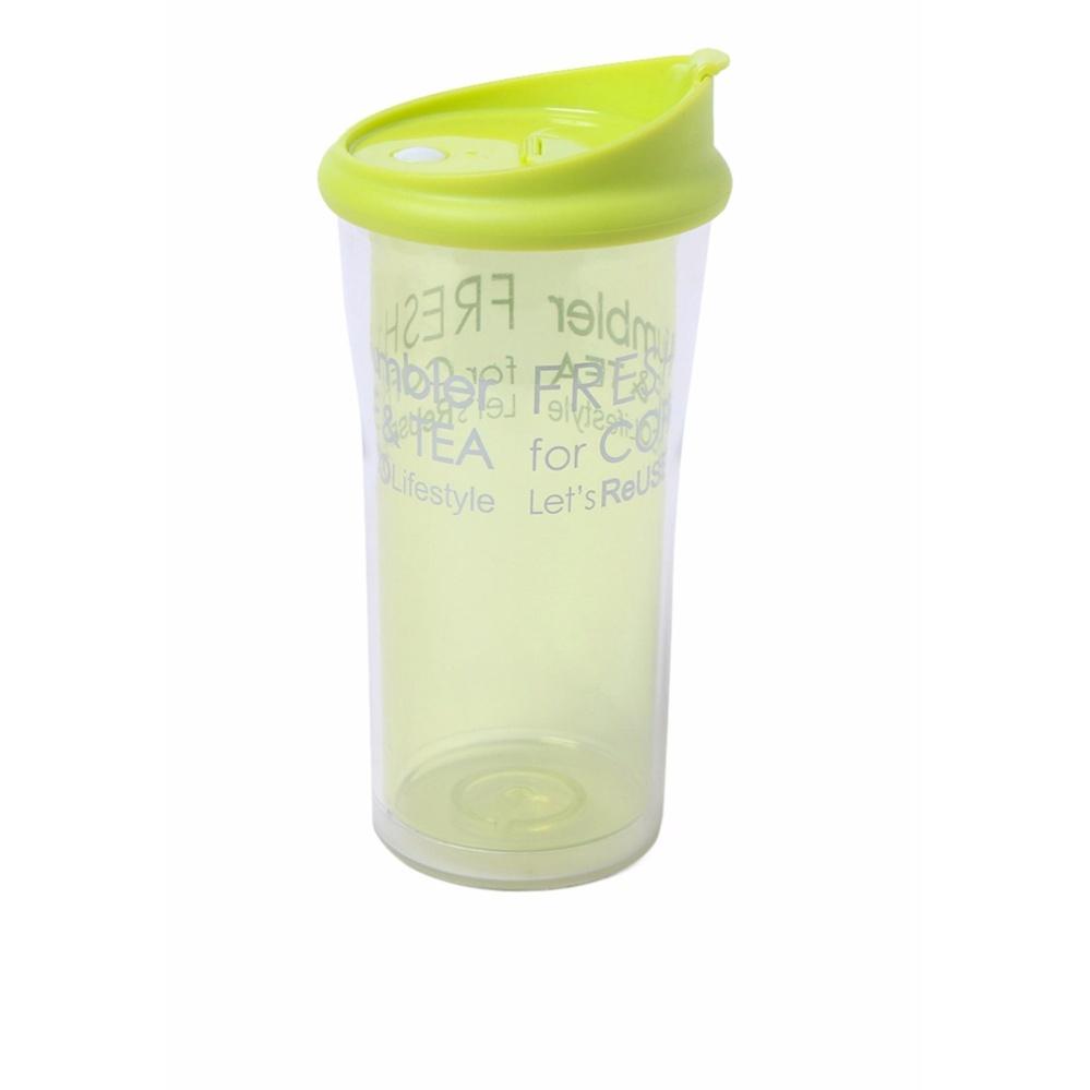 Kehebatan Rumauma Botol Minum Tumbler Gelas Kaca 350 Ml Unik 500
