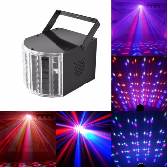 U'King Stage Light DJ Lights Dance Club Party Disco Light KTV Bar Effect Lighting Sound Active DMX512 Control RGBW Projection Lamp - intl