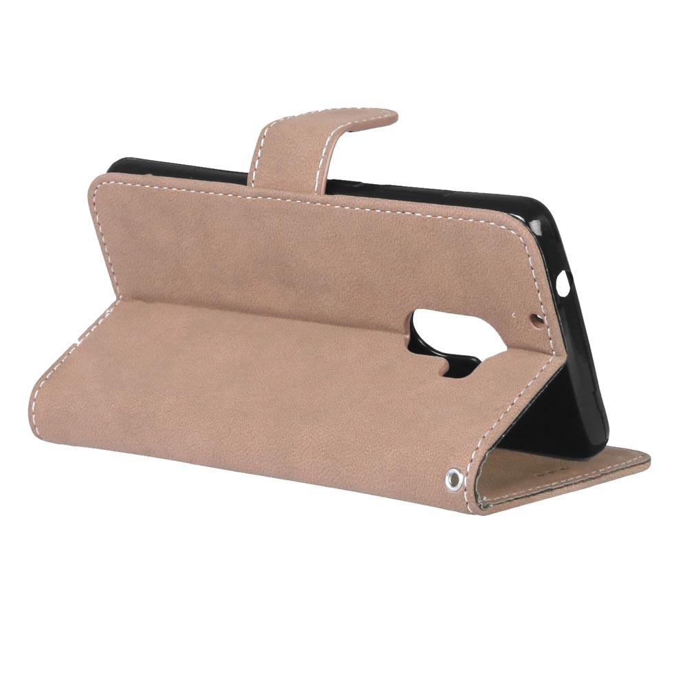 Ueokeird pelindung berdiri tas dompet pemegang ID kartu kreditMagnetic sandal karet Bumper lembut .