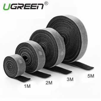 UGREEN Loop Wraps Reusable Fastening Cable Ties Straps Strips for Cords Wire Management - 3M - intl