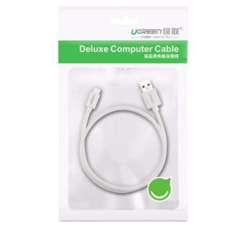 UGREEN USB 3.0 to USB Type C Fast Charging and Sync Data Round Cable for New MacBook Android Mobile Phone - White,1m - intl - 5