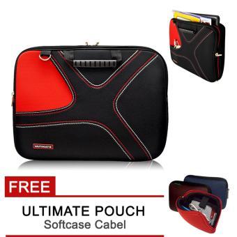 Ultimate Tas/Bag/Cover/Softcase/Backpack Laptop pria/wanita Double X