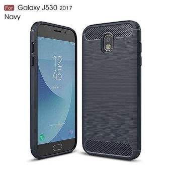 Ultra Light Carbon Fiber Armor ShockProof Brushed Silicone Grip Case For Samsung Galaxy J5 Pro 2017 J530