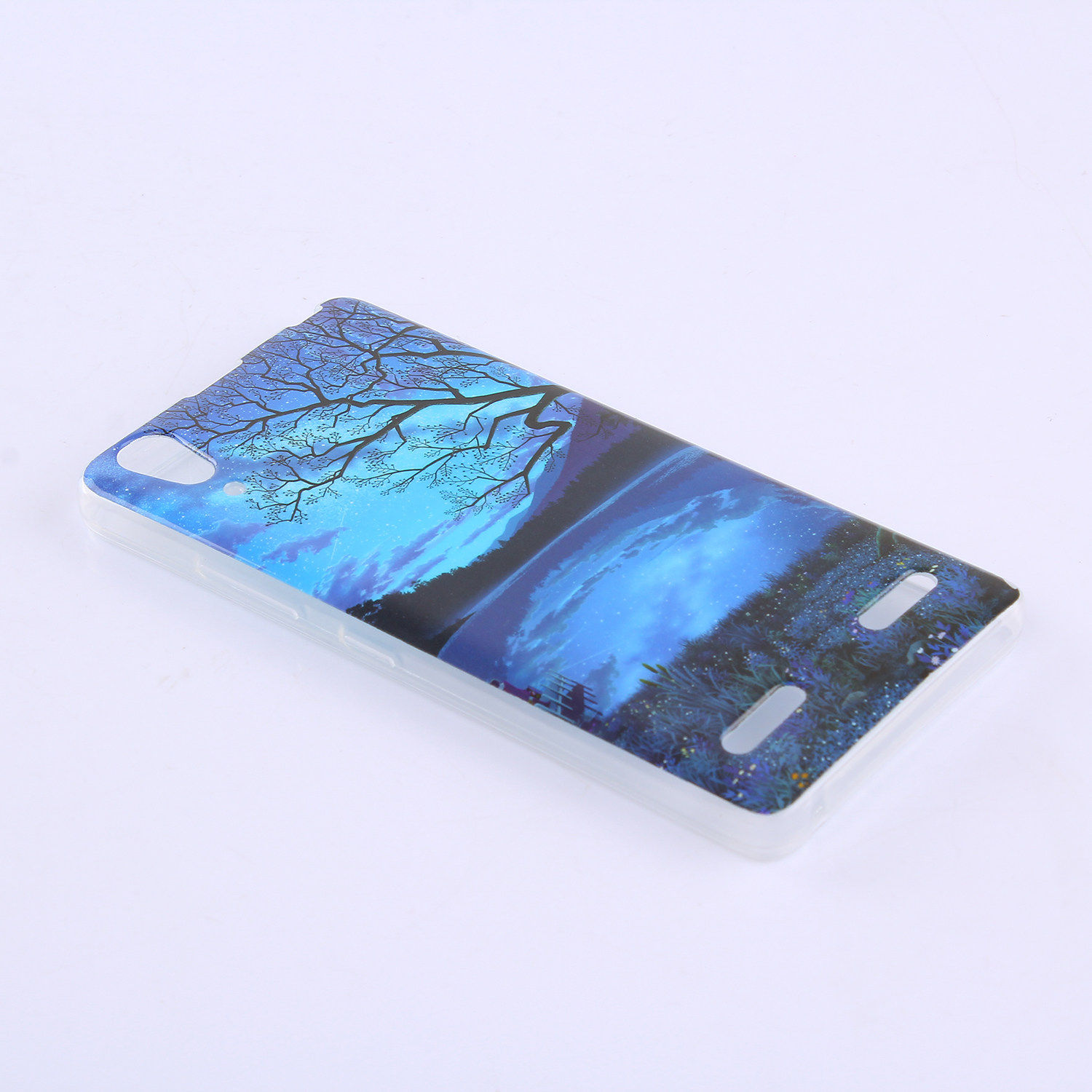 Ultra Slim Fit Soft TPU Phone Back Case Cover for Lenovo A6000 /