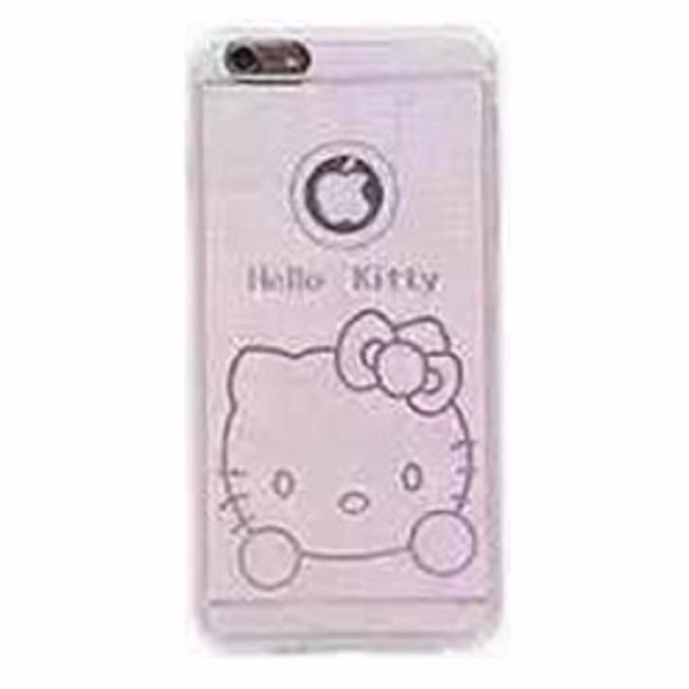 ... Ultra Thin TPU Case for iPhone 6 - Hello Kitty Pattern - White ...