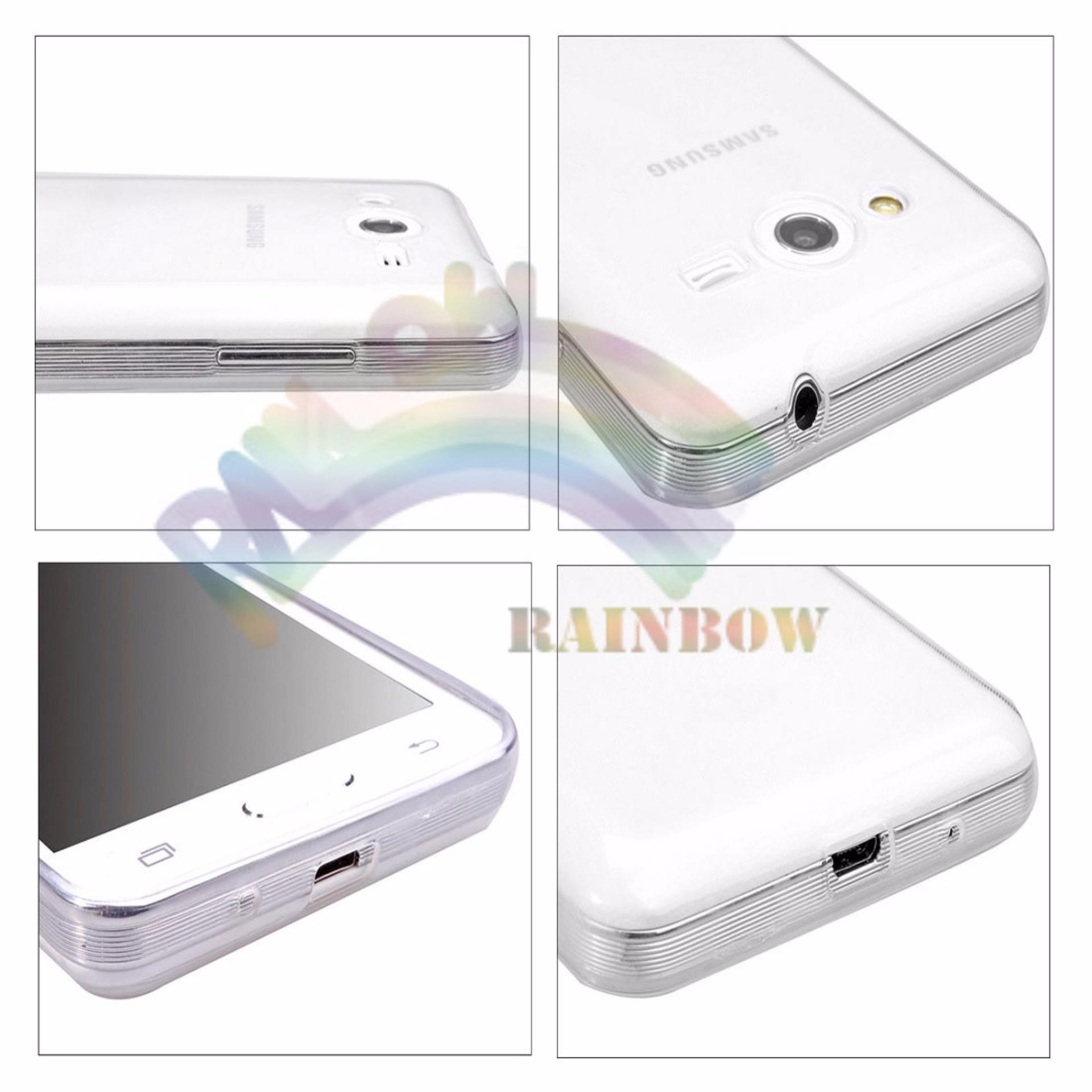 Ultrathin Samsung Galaxy Core 2 G355H Ultrathin Jelly Air Back Case0.3mm / Silicone Soft