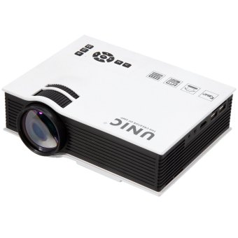 UNIC UC40 800LM 800 x 480 Simplified Micro LCD Projector White