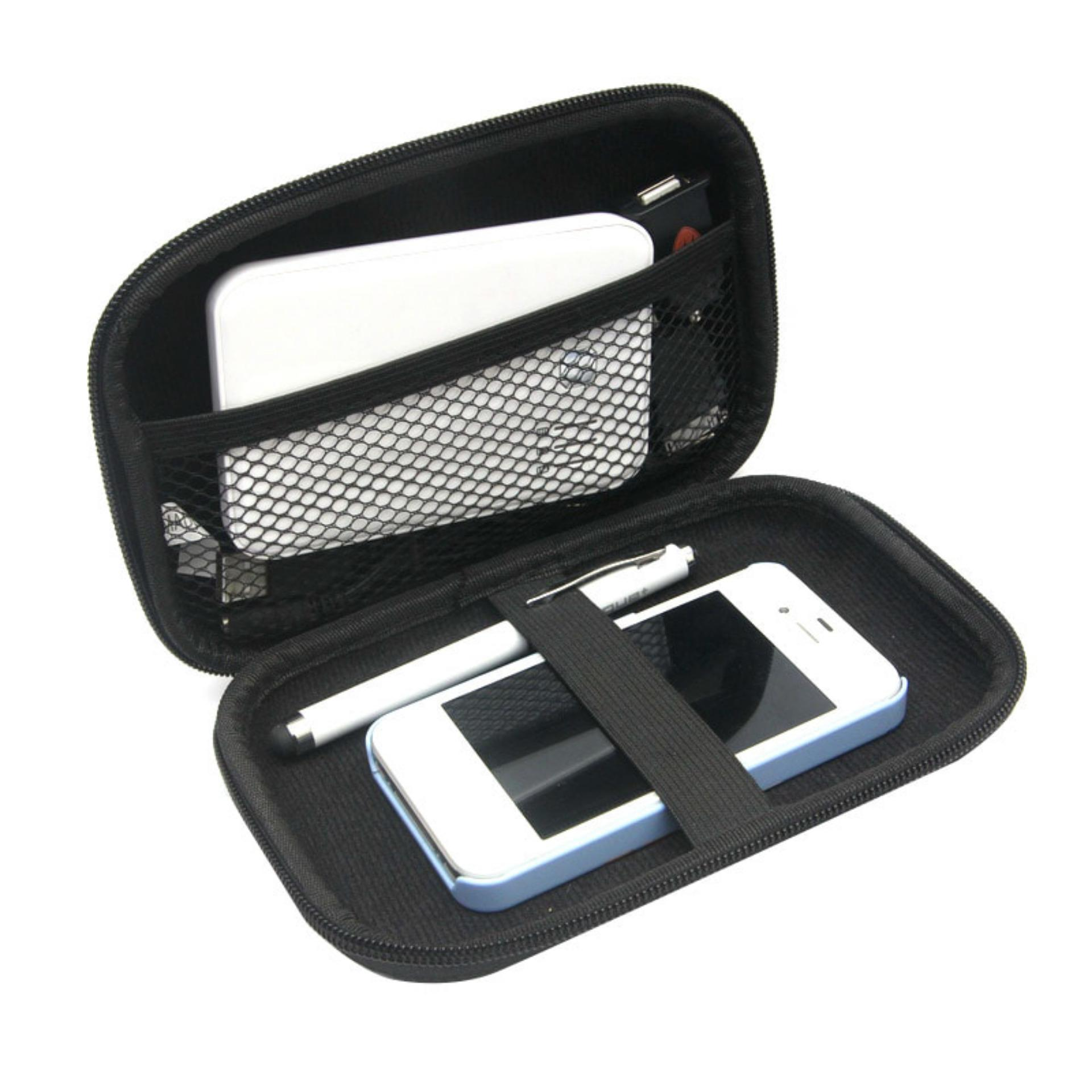 Unique Dompet Sarung Hard Disk- Hard Case Power Bank Portable Gadget / HDD Protector Hard