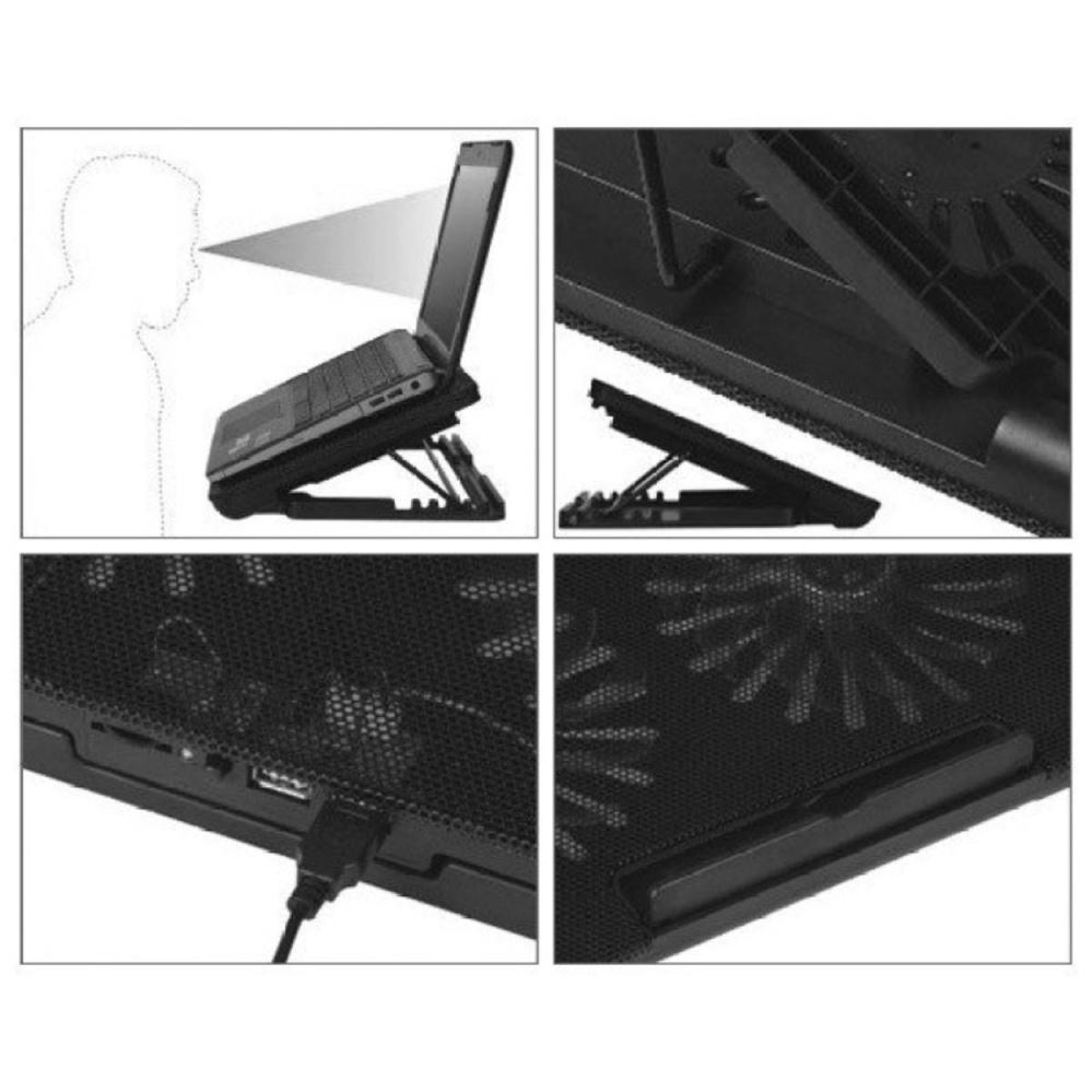 Cooling Pad Coolingpad Cooler Fan Kipas Pendingin Laptop N 19 Bigfan Coolerpad Nc33 Unique 2 Maxcool 9 Hitam