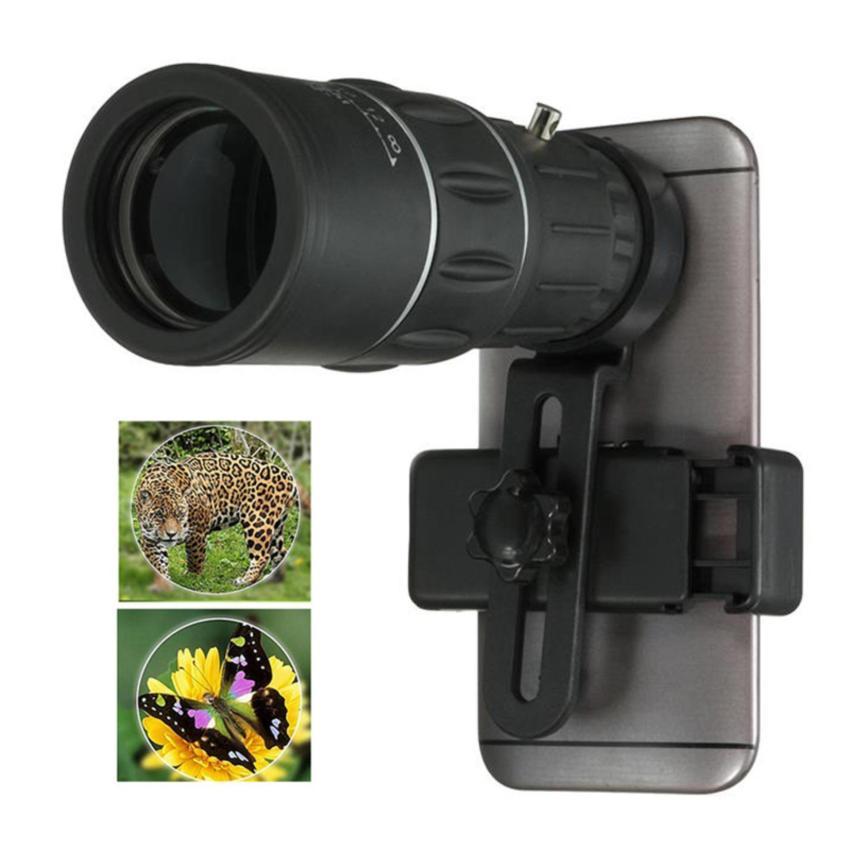 Universal 16 x teleskop ponsel kamera lensa Zoom untuk