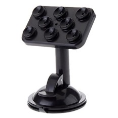 Universal 360 Degrees Rotating Suction Cup Mount Holder (Black) - intl