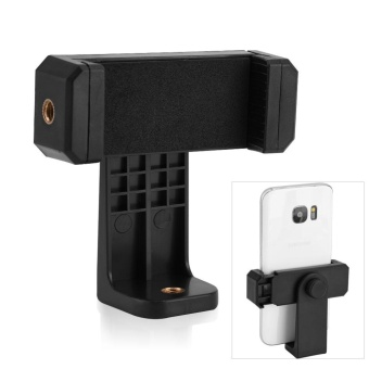 Universal 360? Rotation Phone Clip Mount Holder Grip Mount for Tripod Monopond Selfie Stick - intl