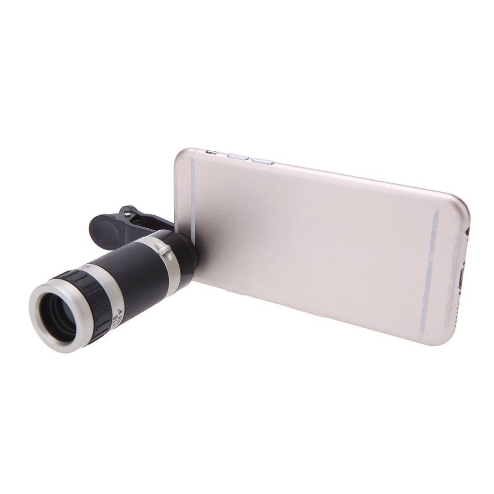 Online Murah Universal 8 X Perkecil Tampilan Ponsel Kamera Lensa Superwide 04x 235 Degree With Clip Tele Dengan Klip Untuk Iphone Samsung Htc Fotografi