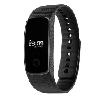 Universal Bluetooth Smart Sport Bracelet Fitness Tracker SmartSportWristband Waterproof OLED Screen Support for Andorid and iOSforApple iPhone 6 Plus 5S HTC One M8 Lenovo One Sony Xperia Z3HuaweiSamsung Galaxy Note 5 S6 4 Black - intl