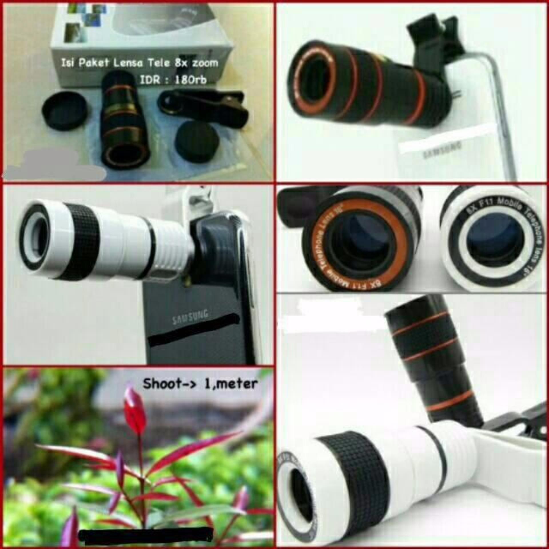 Pencari Harga Universal Camera Lensa Telezoom 8x Jepit Telescope For All Type Hp