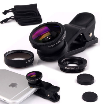 Universal Clip Lens - Wide & Fish Eye Lens - Smartphone