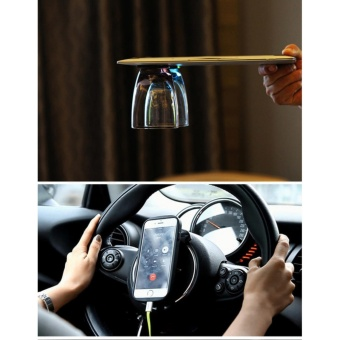 Universal Holder Handphone Flexible-Perekat Flourish Lama Nano Rubber