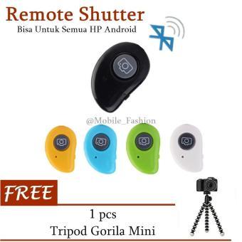Universal Remote Shutter Tomsis Bluetooth Camera Android & iOS FREE Tripod Gorilla Mini