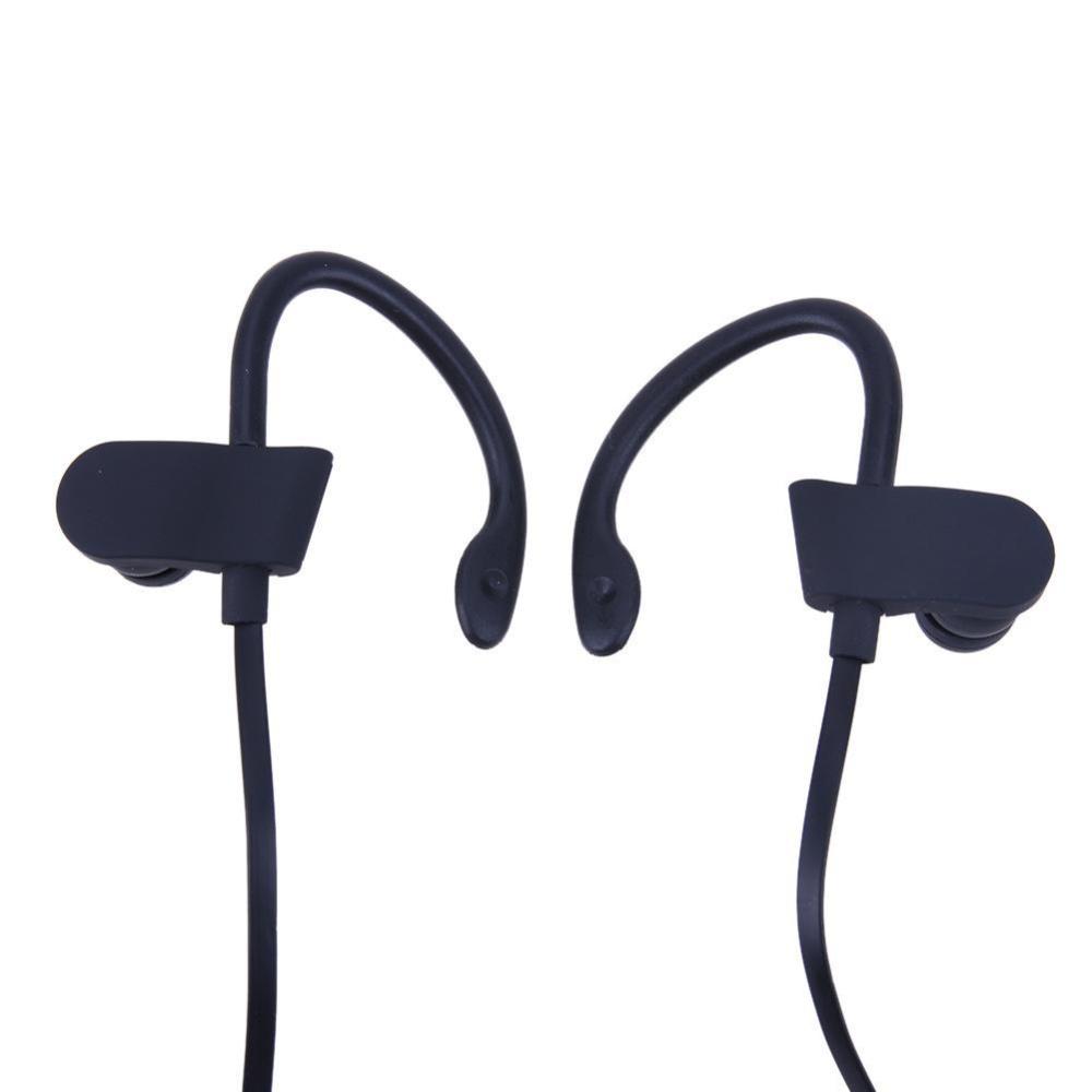 Universal Wireless Bluetooth Sports Earphone Stereo Earbuds Headset(Black) - intl ...