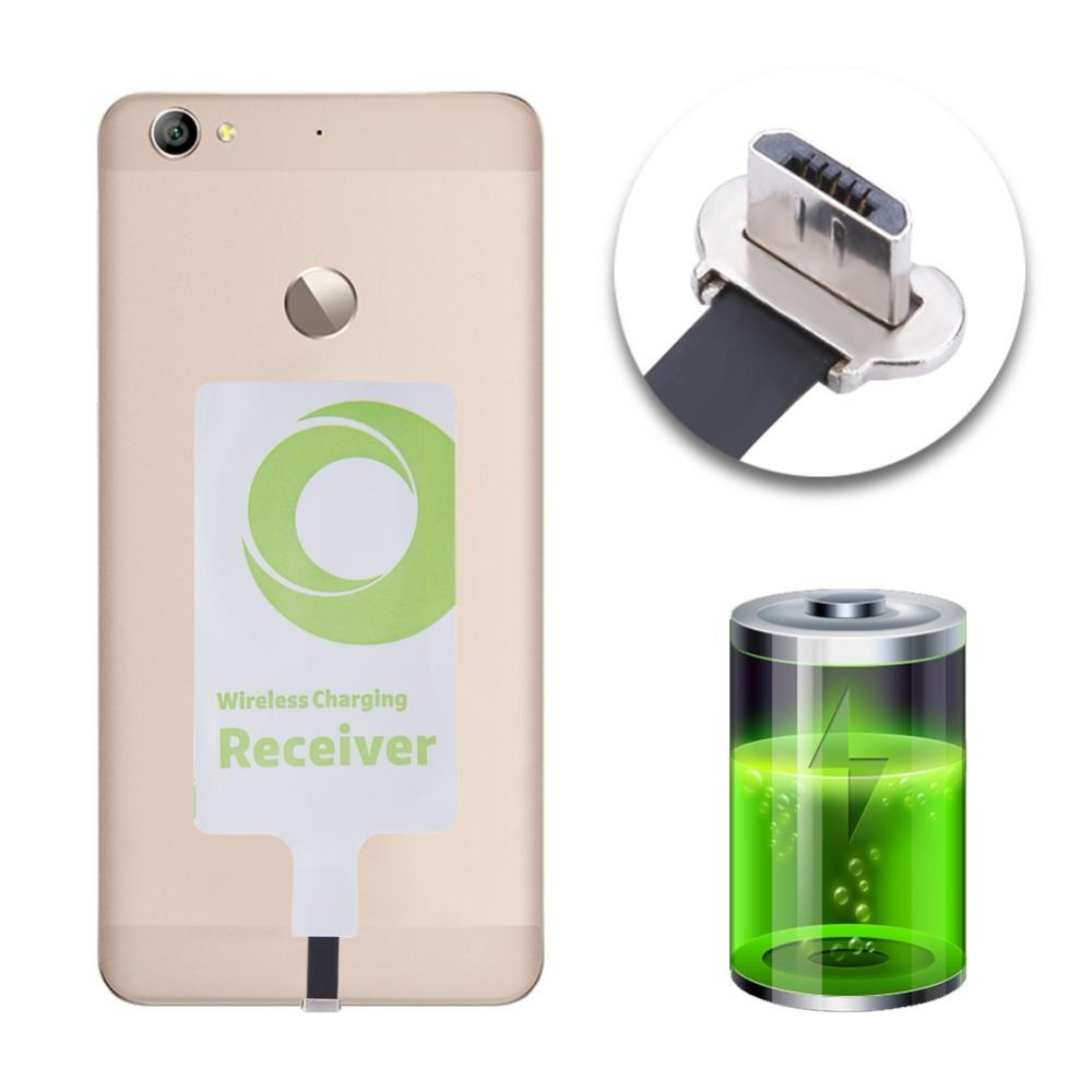 ... Universial Qi Charging Receiver Patch Module for Micro USB For Xiao MI Huawei Oppo - intl ...