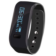 UP Tahan Air Bluetooth Smart Watch Gelang Band Heart Rate Monitor Tracke (Hitam)