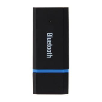USB Bluetooth Audio Receiver 3.5mm Audio Cable WirelessTransmission - intl