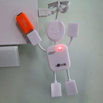 USB Hub Man 4 Port - Colokan Mouse Colokan Flashdisk Kabel USBKabel Data USB Serbaguna Kabel Data Serbaguna USB Unik Best Seller