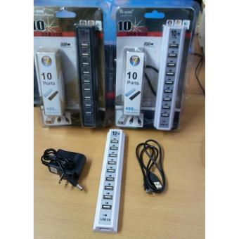 USB Hub Saklar 10 Port LH 071